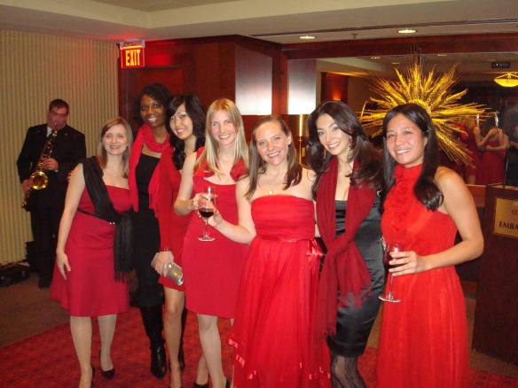 The 2010 Board of Kogod Women in Business: Jamie Steinberg, Oge Ezeokoli, Suzie Jang, Meredith Rodgers, Kristen Owen, Amanda Cardinale, Alexis Fabrikant
